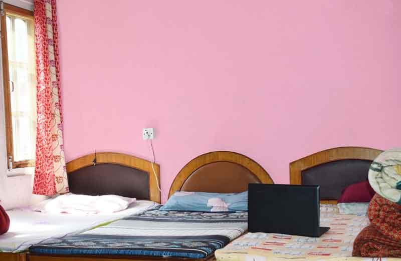 3 sharing bedrooms-RadhaKrishna girls and boys hostel