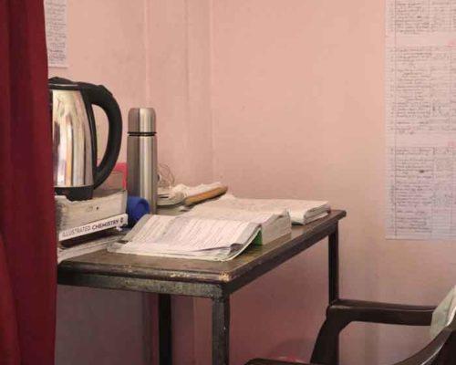 Study chair-RadhaKrishna girls and boys hostel