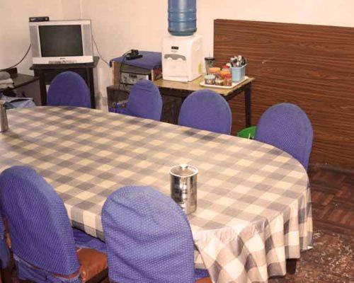 Dining table- RadhaKrishna girls and boys hostel