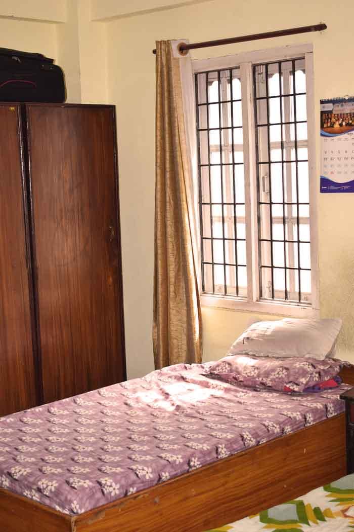 Clean bedroom- RadhaKrishna girls and boys hostel