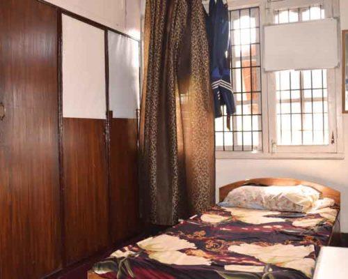 Single room- RadhaKrishna girls and boys hostel